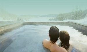 Bains à remous en hiver - BALNEA