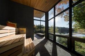 Pavillon du lac | Sauna du Clob de plage