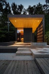 Pavillon du lac | Sauna du Club de plage